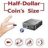Smallest Spy Hidden Camera,Rettru XD Mini HD 1080P Small Micro Covert Nanny Camera with Night Vision and Motion...