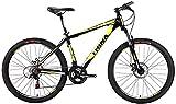 Trinx MTB Mens Mountain Bike 26 inch 21-Speed M136 (Black Green)