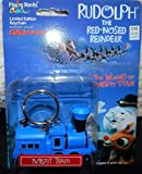 Rudolph and The Island of Misfit Toys Keychain - Misfit Train