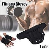 KLOP256 Gewichtshandschuhe, 1 Paar Sport Fitness Gym atmungsaktiv Training Hand Sandsack Gewicht Lager Handschuhe, nicht null, blau, Free Size - 9