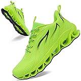 QUINMOK Mens Running Shoes Lightweight Casual Walking Fashion Sneakers