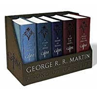 TrustyTrade New George R. Martins a Game of Thrones レザークロス ボックスセット (氷の歌)