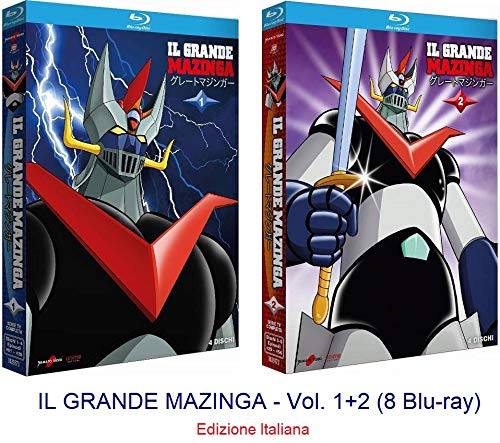 IL GRANDE MAZINGA - Vol. 1+2 (8 Blu-ray)