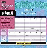 Wells Street by LANG WSBL ボヘミアン 2020 Plan-It Plus (20997009159) アカデミックウォールカレンダー (20997009159)