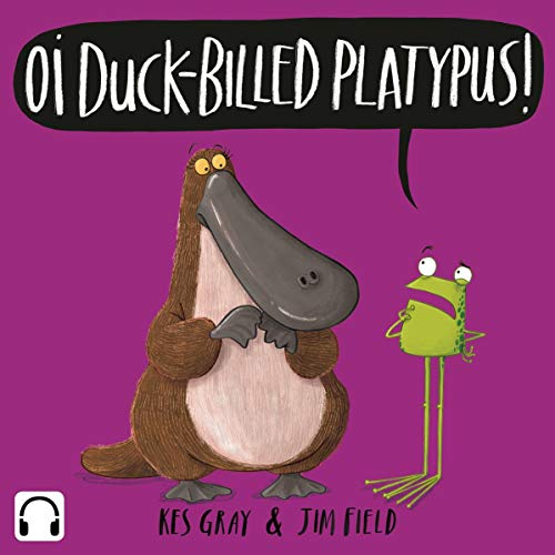 Oi Duck-billed Platypus audiobook cover art