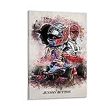 ASHDJ Jenson Button Poster dekorative Malerei Leinwand