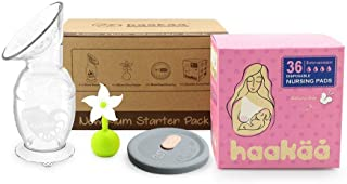 Haakaa New Mum Starter Pack Breast Pump Stopper Nursing pad