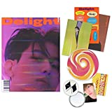 EXO BAEKHYUN 2nd Mini Album - Delight [ CINNAMON ver. ] CD + Booklet + Folded Poster(On pack) + Postcard + Message Card + Sticker + Photocard + OFFICIAL POSTER + FREE GIFT / K-POP Sealed