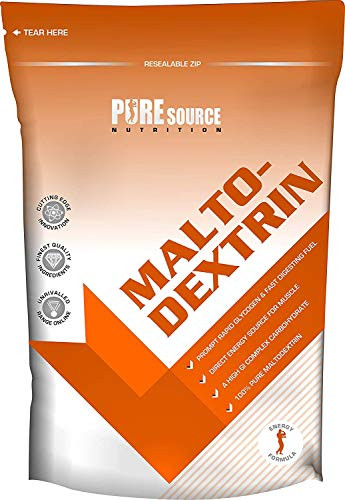 PSN 100% Pure Maltodextrin Carbohydrate Powder/Unflavoured Recovery Drink Fast Digestion High GI 500g