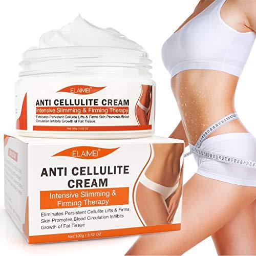 Anti Cellulite Cream, Slimming Cream for Tummy, Abdomen, Belly and Waist -...