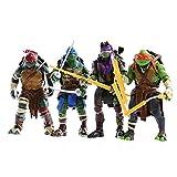 Juegos De Tortugas Ninja, 4 Figuras De Acción De Tortugas Ninja, Figura De Acción De Tortugas Ninja Mutantes Adolescentes, Juguetes De Modelos De Personajes De Anime, 5.9 Pulgadas