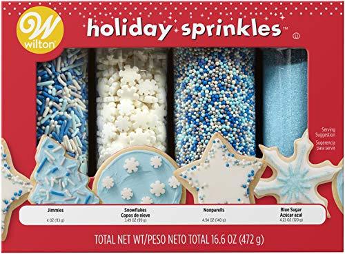 Wilton Winter Sprinkles Mega Set of 4, 16.6 oz