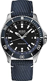 [ミドー] ダイバーズウォッチ オーシャンスターGMT オーシャンスター M0266291705100 メンズ ブルー