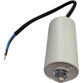 Condensateur permanent de travail pour moteur 30/µF 450V avec c/âble 15cm pr/éc/âbl/é Aerzetix