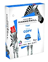Hammermill 162032 Tidal Three-Hole Copy Paper 92 Brightness 20lb Letter 5000 Sheets
