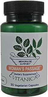 Vitanica, Woman's Passage, Menopause Support, Vegan, 30 Capsules