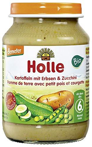 Holle Bio Kartoffeln mit Erbsen & Zucchini (6 x 190 gr)