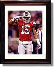 Framed Ohio State Ezekiel Elliott 'Buckeye Salute