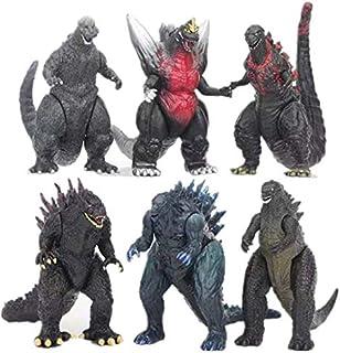 SKEIDO 6pcs/set Godzilla action Figure toy Collect Toy Godzilla Dolls-9cm