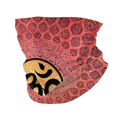 best& Cara Ma-sk Diadema Lotus Mandala Mantra Rainbow Cover Casual Headwear Bandana Toalla Cuello Polaina