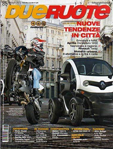 Dueruote 85 maggio 2012 Moto Guzzi Stone, Special e Racer-Aprilia SVR 850