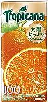 キリン トロピカーナ 100% オレンジ 1000ml紙パック×6本入×3ケース(18本)