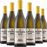 VIPAVA 1894 Pacchetto degustazione vini bianchi: vini Lanthieri (Zelen, Pinela, Sauvignon, Chardonnay, Pinot Grigio, Malvasia), degustazione vini bianchi, vino di qualità - ZGP (6x 0,75L)