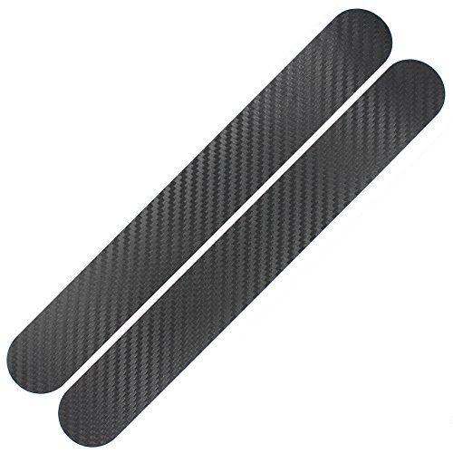 Finest Folia Fahrrad Kettenstreben Schutz Aufkleber Folie Lackschutz (K098 Carbon Schwarz)