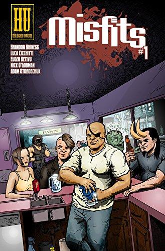 Book: Misfits #1 by Brandon Rhiness