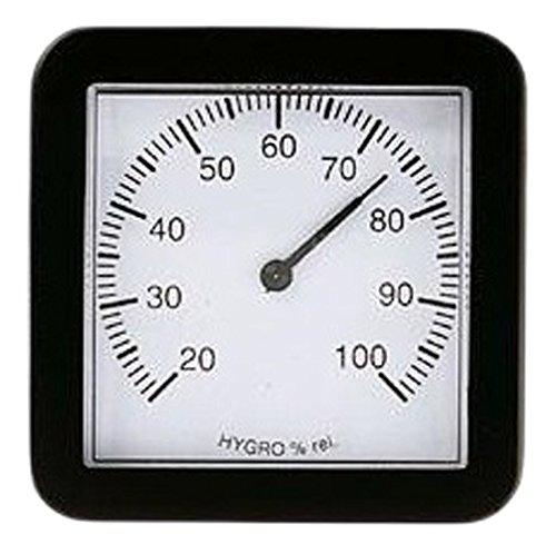 Koch Hygrometer, schwarz, 9,5 x 3 x 9,5 cm, 17200