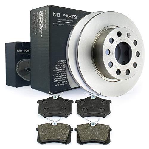 Bremsen/Bremsscheiben + Bremsbeläge voll hinten NB PARTS GERMANY 10042827