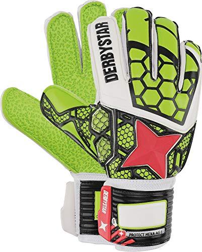 Derbystar Protect Hexa AG I, 10, Verde, Blanco, Rojo, 2512100000