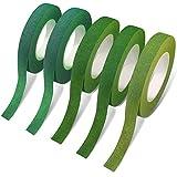 5 rollos de cintas florales, adhesivos de flores maxin para hacer flores de envoltura de tallos de ramo y decoraciones de proyectos de artesanía de floristería