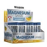 Ampollas de Magnesium Liquid, magnesio en formato liquido. Formato de Ampollas, transportable fácilmente