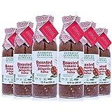 Patricia Quintana Mexican Artisanal Sauces Roasted Tomato & Jalapeño Salsa Authentic Mexican Taste, Mild, 12.1 fl oz each, Pack of 6