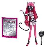 Monster High Toy - Muñeca de Malla de Cuidado para niña con diseño de Gato Noir