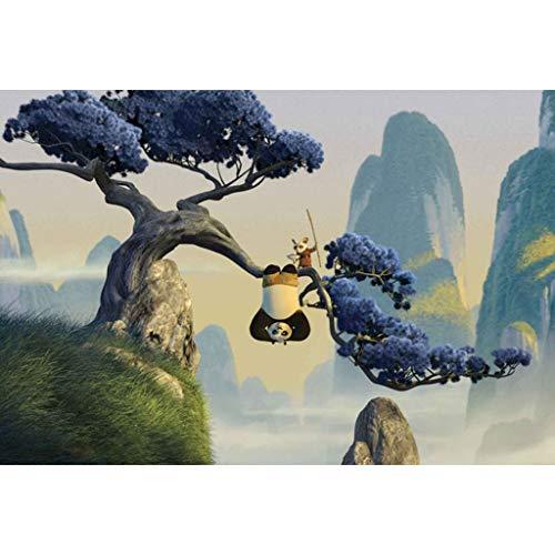 puzzles Película Kung Fu Panda 3 Madera 1000 Piezas Rompecabezas para Adultos Juguete Educativo De Descompresión para Niños(Color:C)