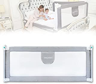 """MBQMBSS Bed Rails for Toddlers - 60"""" 70"""" 80"""" Extra Long Baby Bed Rail Guard with Y-Strap for Kids Twin,Double,Full Size Qu..."""