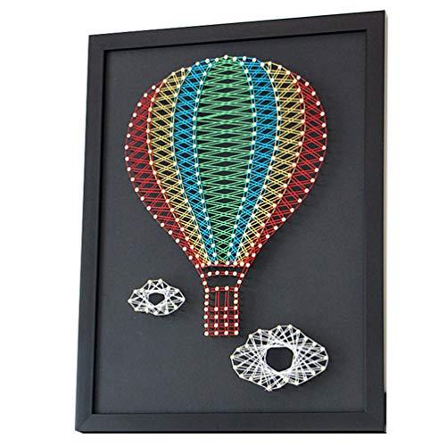 Artibetter 1 Set Nagel Kronkelende Schilderij Kit Diy Nail String Art Kit 3D Tekening Nagels Kronkelende Lijnen Schilderen Kit Voor Diy Ambachtelijke School Thuis Muur Decor