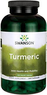 Swanson Turmeric Antioxidant, Joint Health, Cardiovascular, Liver Detox, Mood and Memory Support Supplement...