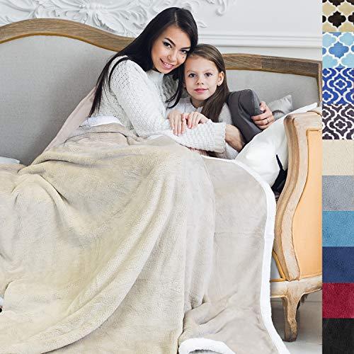 """Tirrinia Super Soft Velvet Plush Throw Blanket 50""""x 70"""",..."""