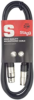 Stagg SMC3 S-Series Male XLR to Female XLR Microphone Cable - 10ft