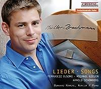 Busoni/Gielen/Schonberg: Liede