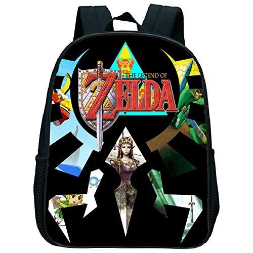 XINFA Zelda Bags The Legend of Zelda School Bags for Boys Satchel Schoolbag School Bag for Girls Children Students Kindergarten Backpack