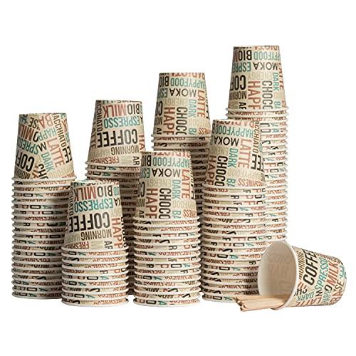 Vasos Cafe Desechables Biodegradables Marca Happyfood