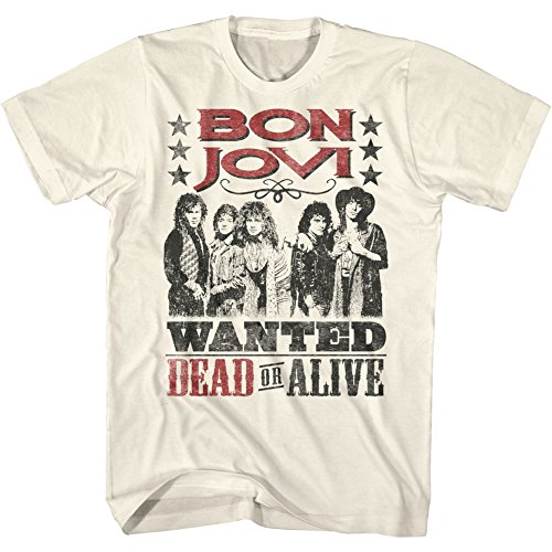 Bon Jovi Wanted Dead Or Alive T-shirt