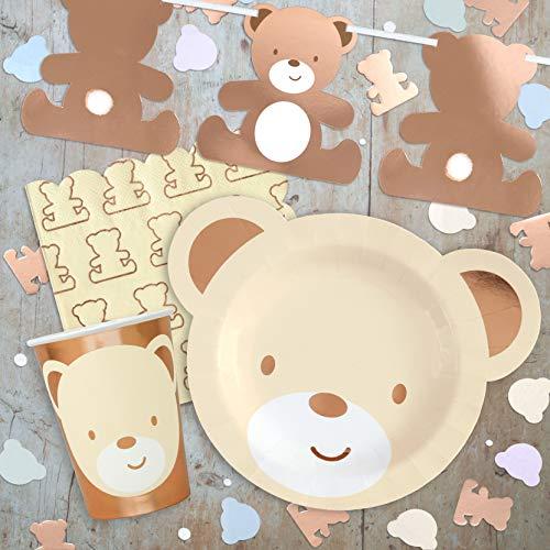Hatton Gate Teddybär-Themen-Partypaket für 8 Personen