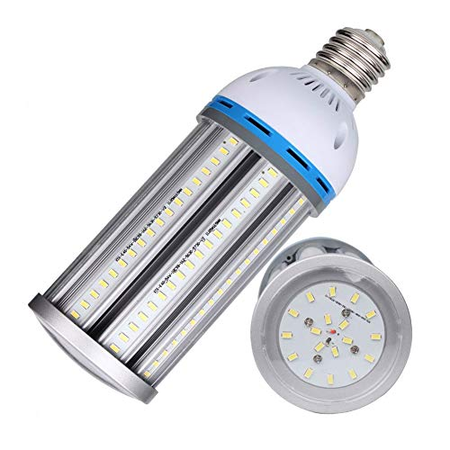Baoming 54 W Mais Licht LED Leuchtmittel E40 (Großer Schraube Gap), Super Bright 6100lm Tageslicht Weiß 6000 K, 220-240 V 360 °Abstrahlwinkel, Ersatz für 250 W Metall Kompakt HID/HPS, 1 Stück