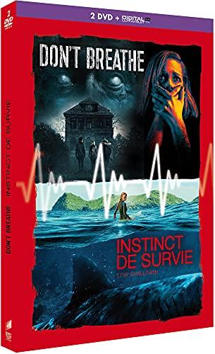 Coffret 2 films : don't breathe ; instinct de survie [FR Import]