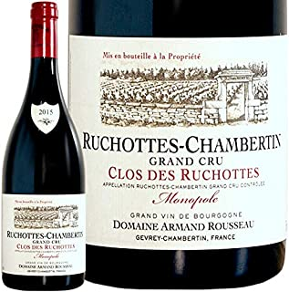 2015 リュショット シャンベルタン グラン クリュ クロ デ リュショット モノポール アルマン ルソー 赤ワイン 辛口 750ml Armand Rousseau Ruchottes Chambertin Grand Cru Clos d...